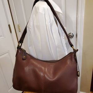 Charter club brown leather purse